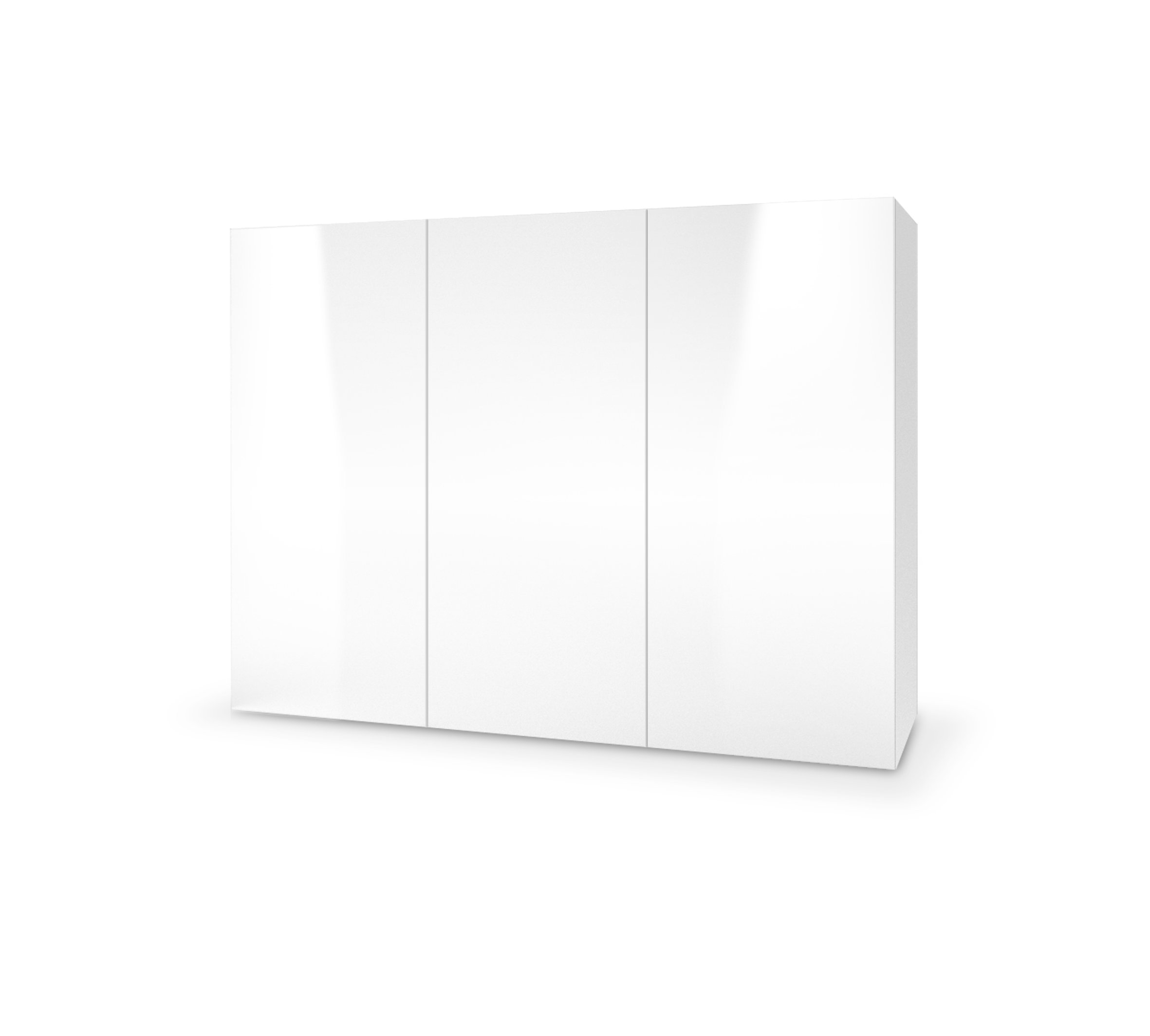 Dulap din MDF Livo KM-120 White, l120xA40xH90 cm imagine
