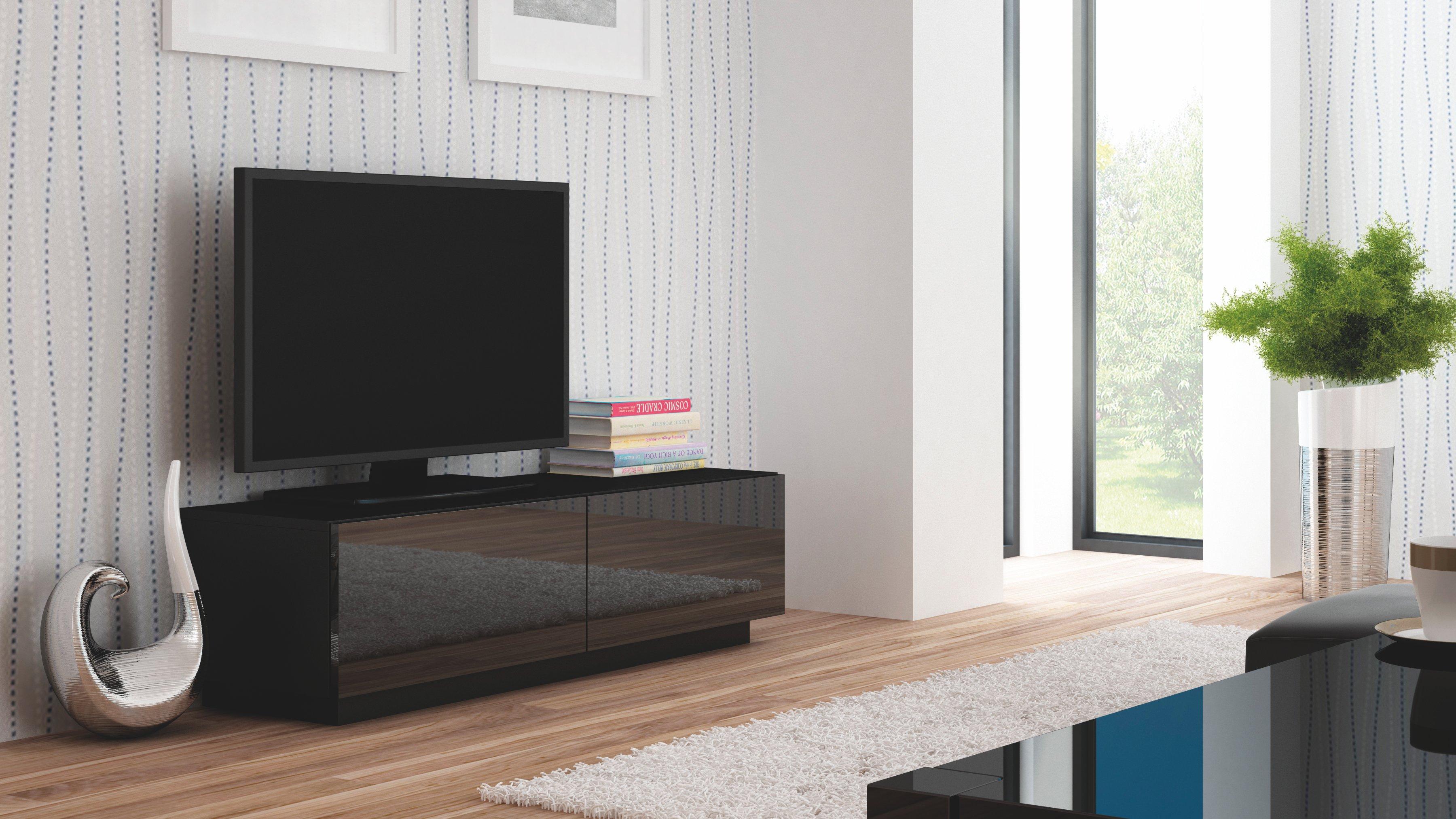 Comoda TV din MDF Livo RTV-160S Black