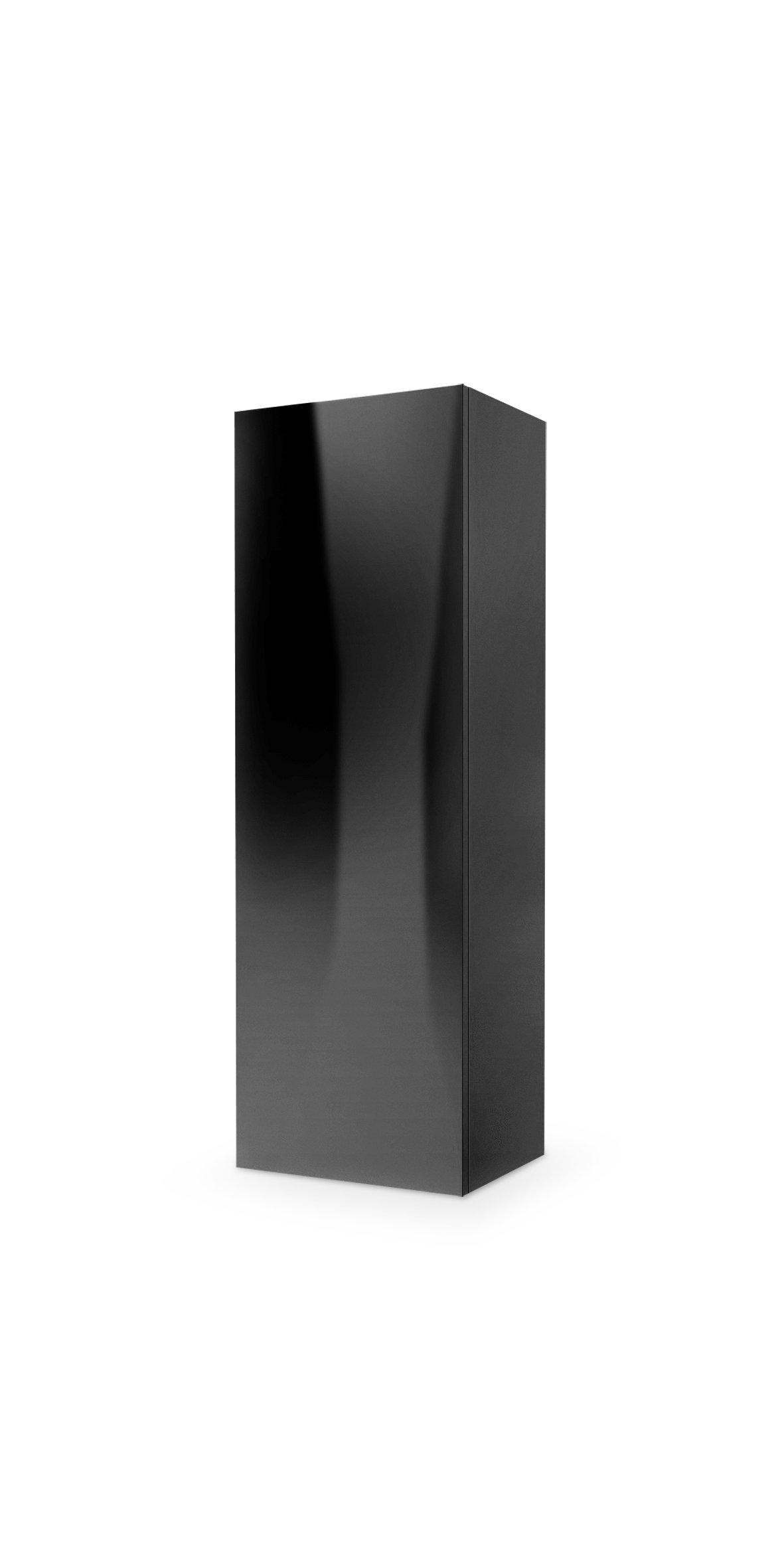 Dulap din MDF Livo S-120 Black l40xA30xH120 cm