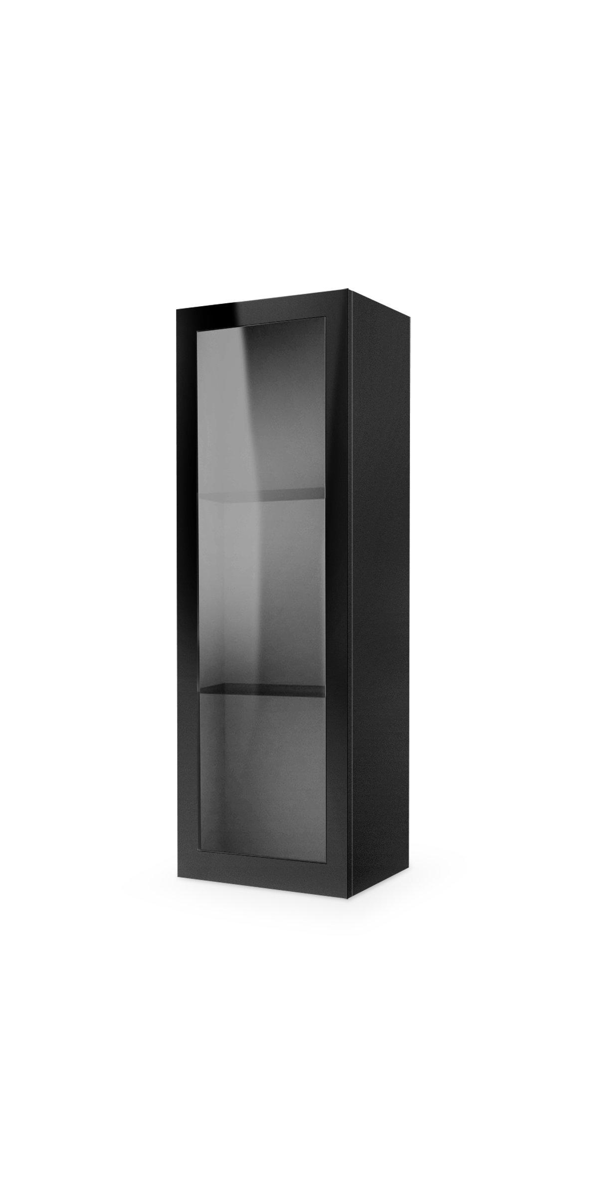 Dulap din MDF Livo W-120 Black l40xA30xH120 cm