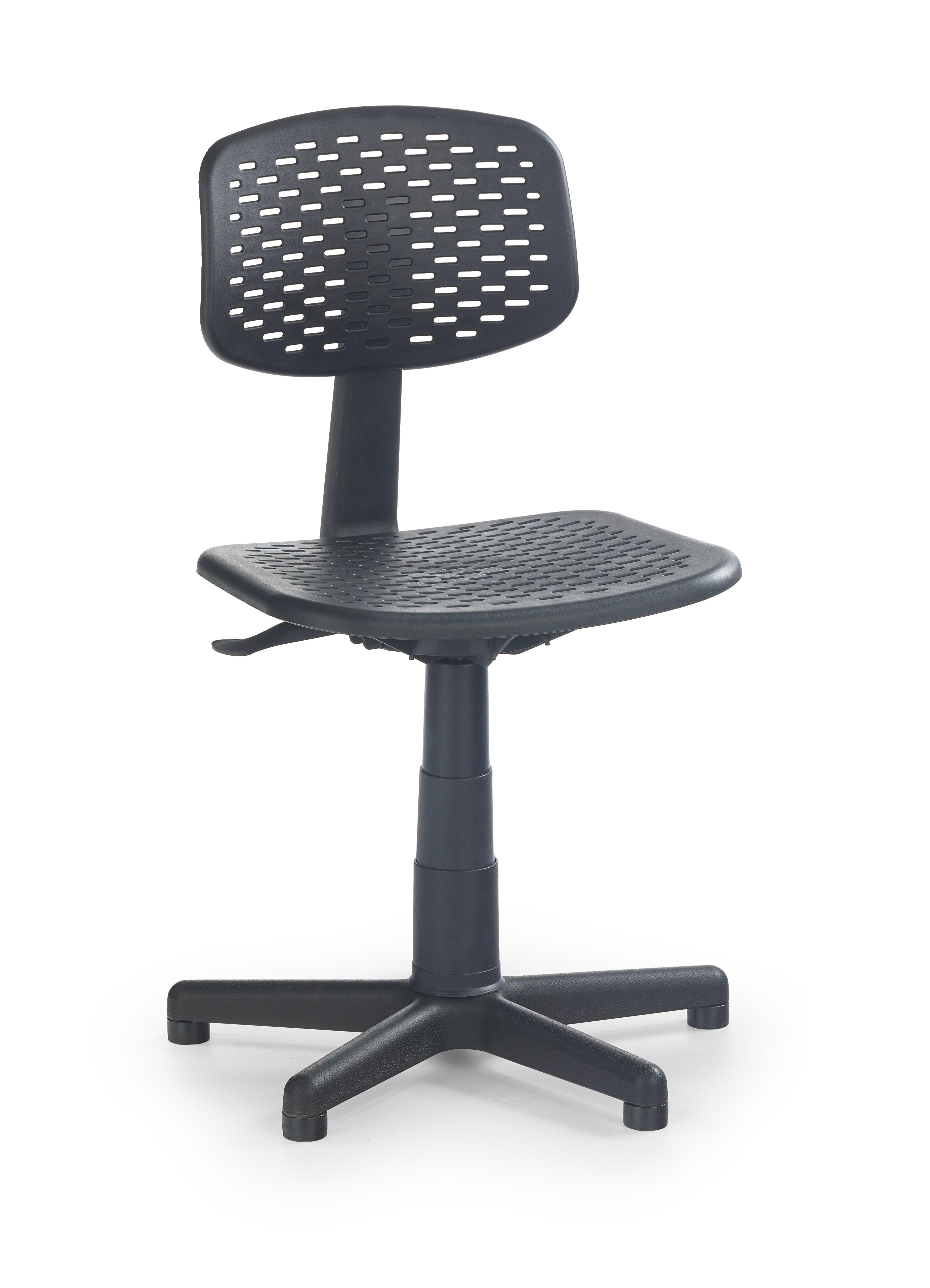 Scaun de birou pentru copii Loco Black