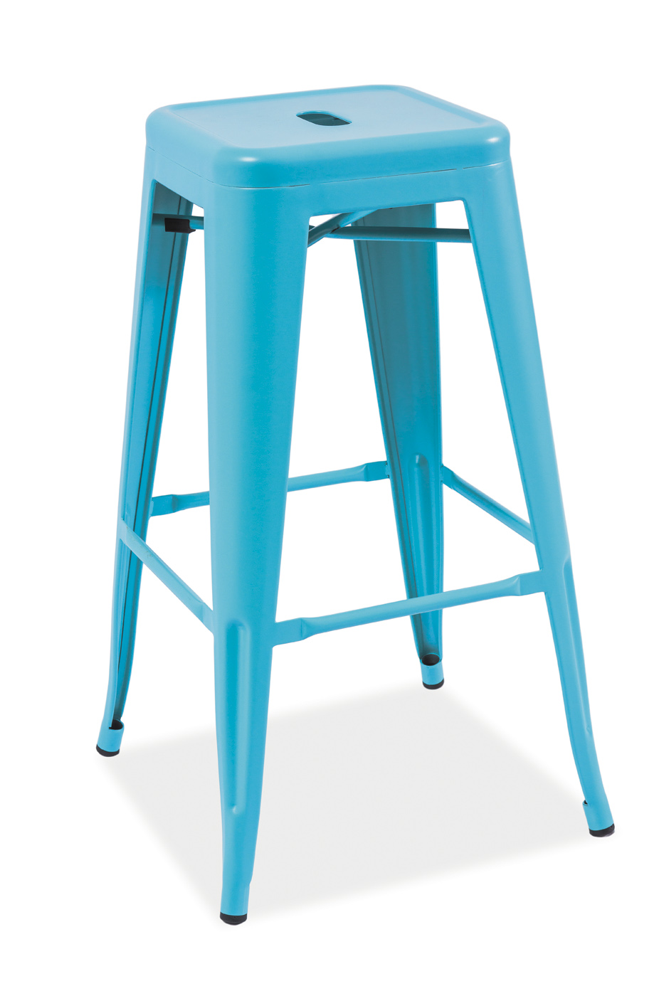 Scaun de bar Long Blue