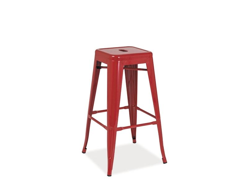 Scaun de bar Long Red