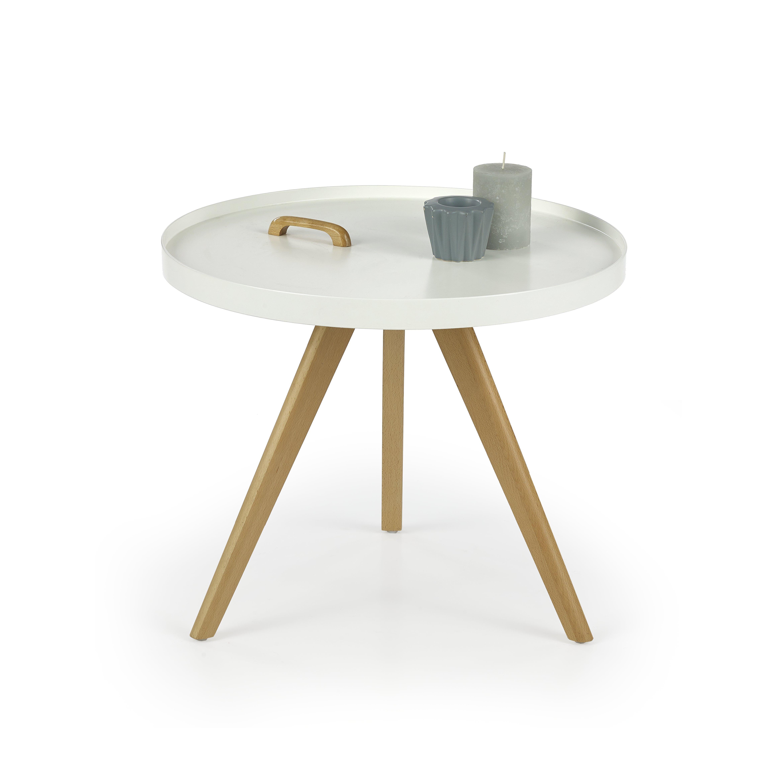 Masa de cafea din MDF si lemn Luka O55xh45 cm
