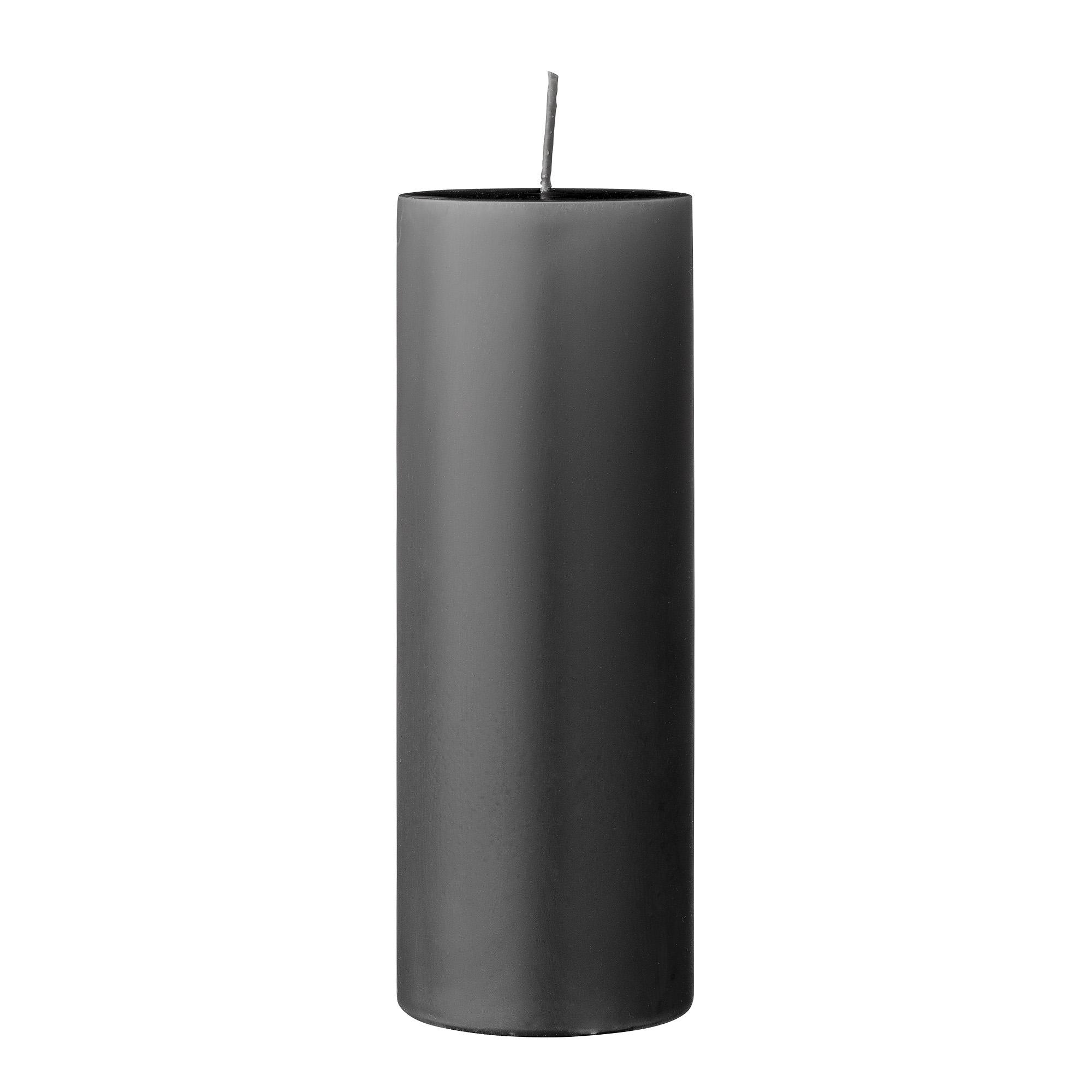 Lumanare Candle Grey O7xH20 cm