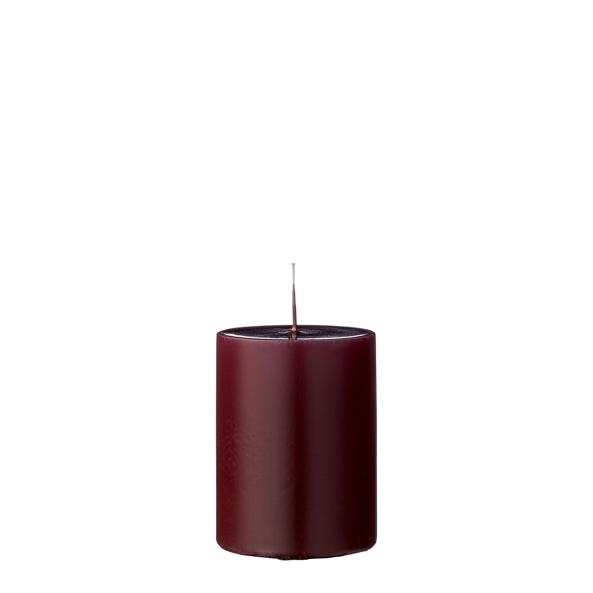 Lumanare Candle Red O7xH10 cm