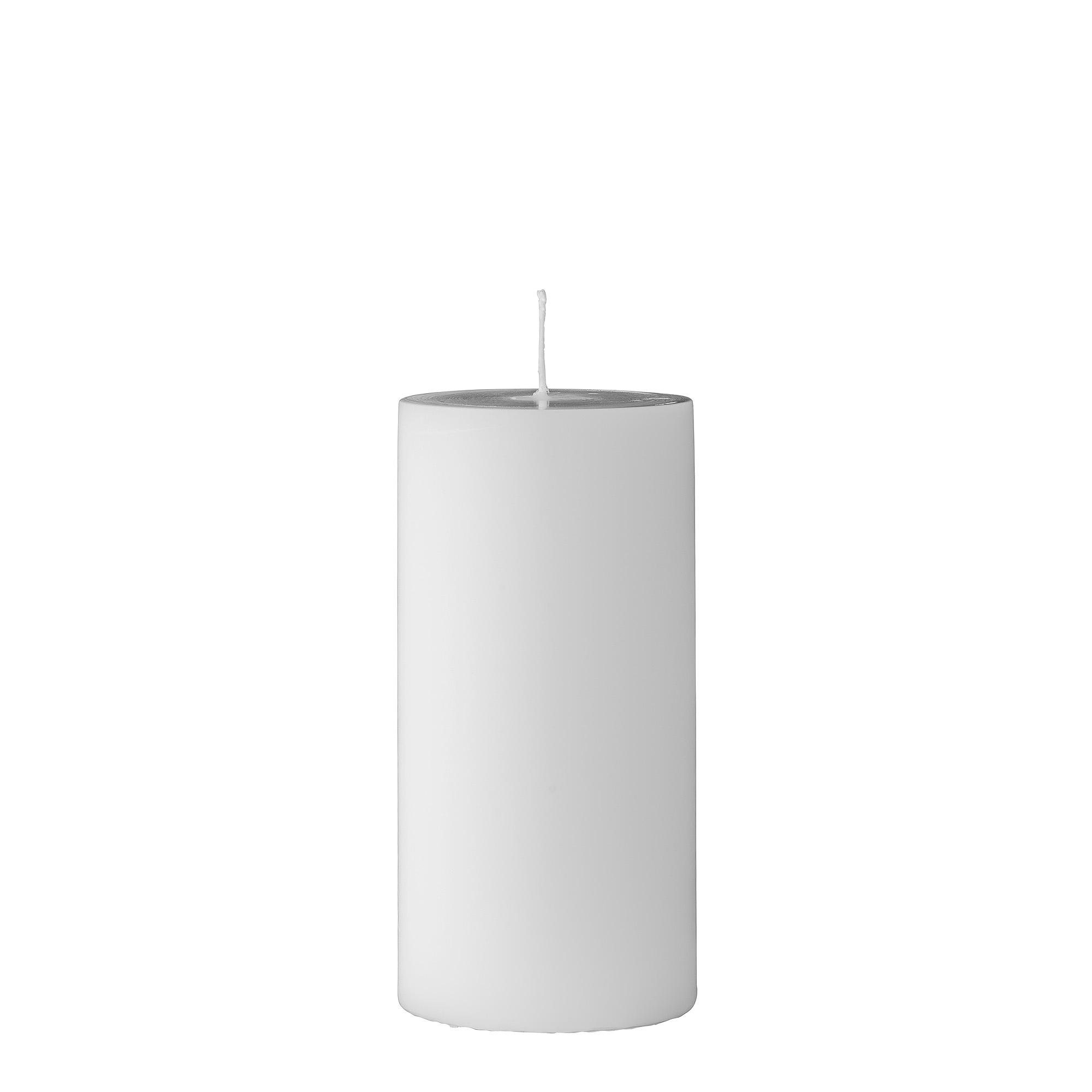 Lumanare Candle White O7xH15 cm