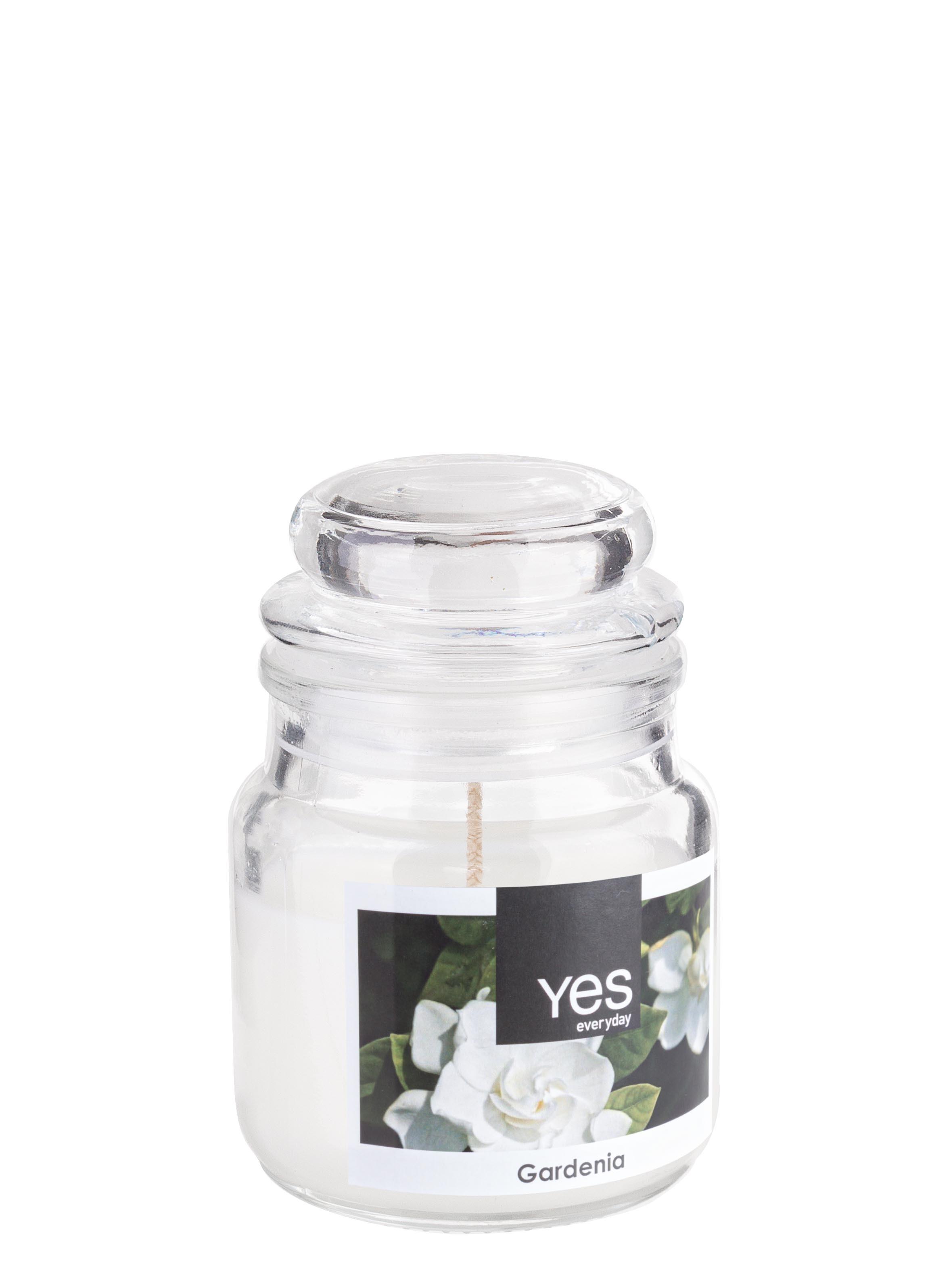 Lumanare parfumata Jug Alb, Ø6xH8 cm poza