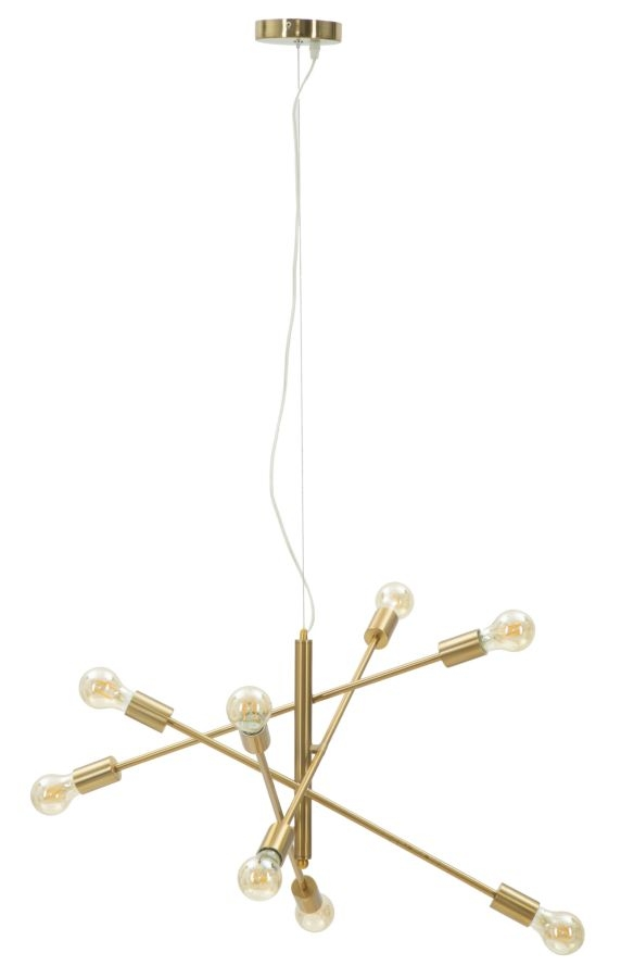 Lustra Glam Stich Auriu, Ø64xH46 cm