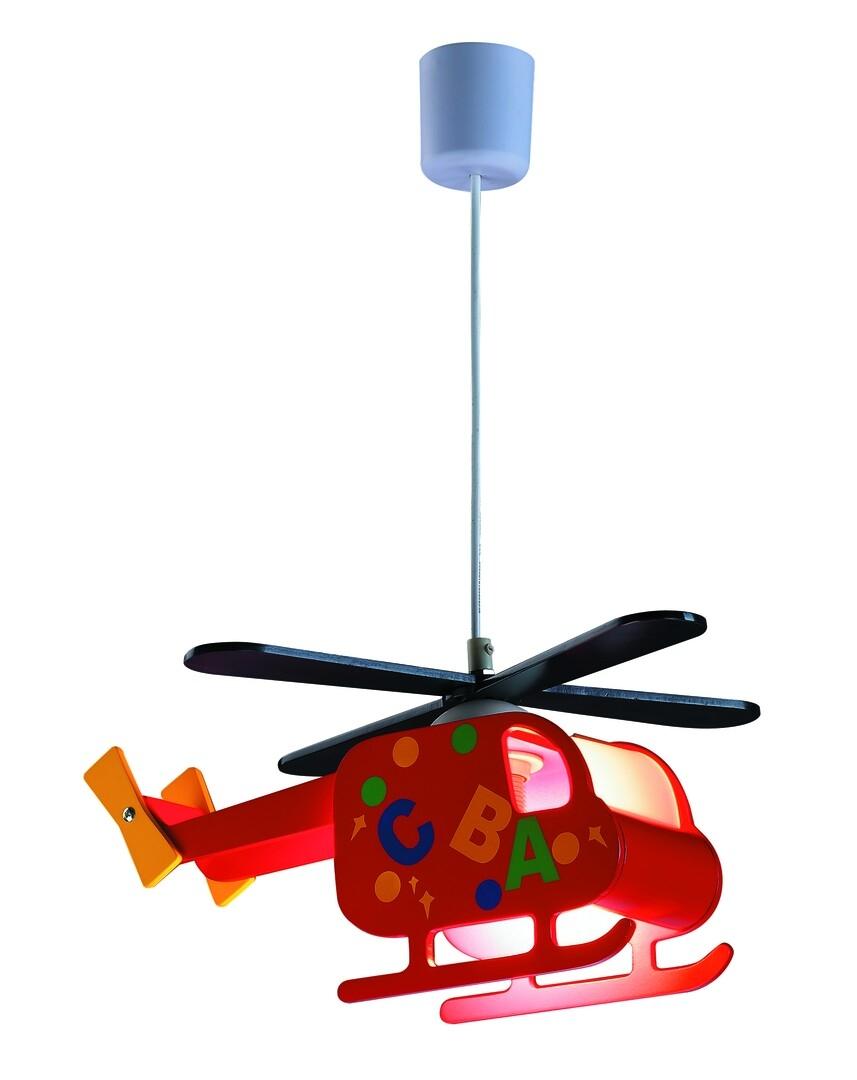 Lustra pentru copii Helicopter 4717 Multicolor poza noua