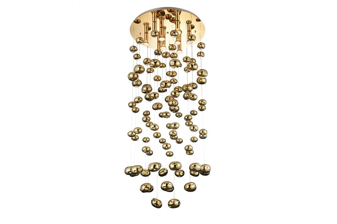 Lustra Luvia XL Auriu, AZ3073