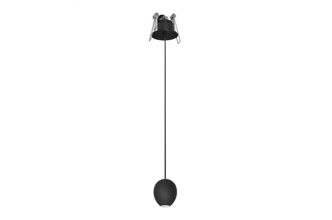 Lustra Ovum 1 Pendant Downlight Negru, AZ3096 din categoria Iluminat