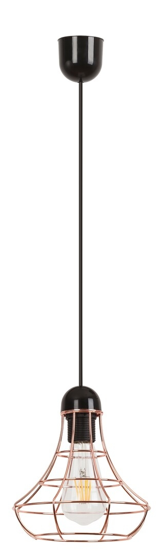 Lustra Ramsey 4650 Negru / Cupru