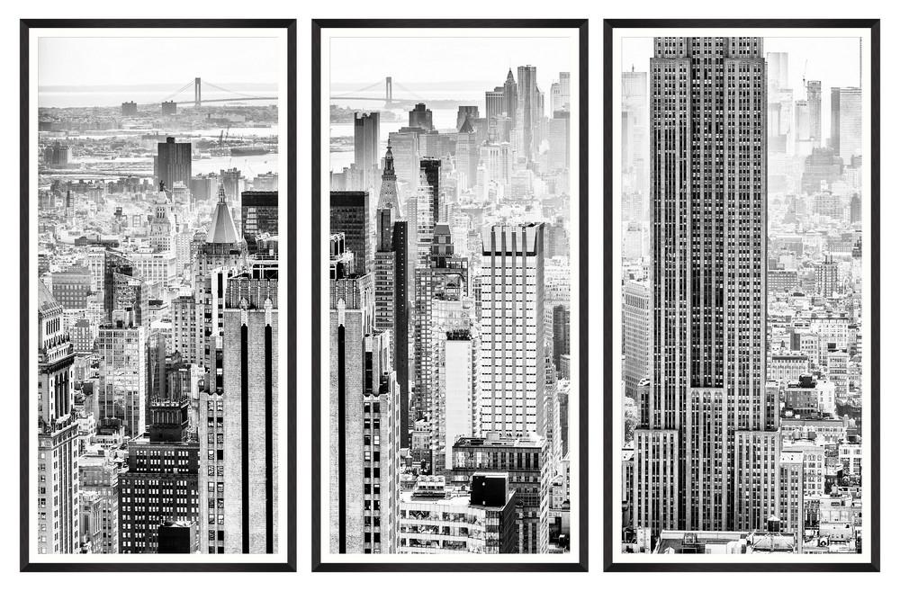 Tablou 3 piese Framed Art Manhattan View