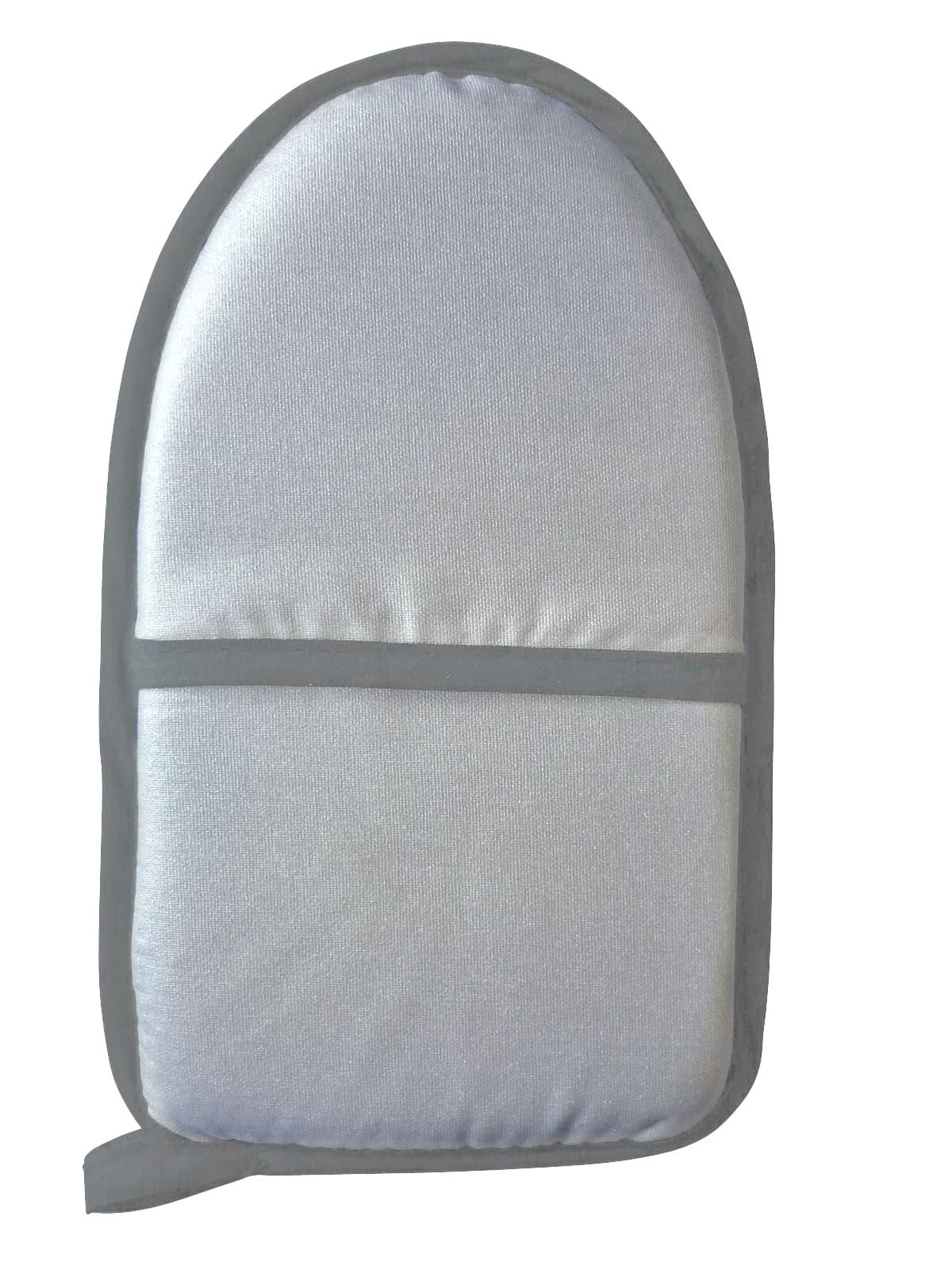 Manusa pentru calcat din poliester, Cushion Gri, L24xl15 cm imagine