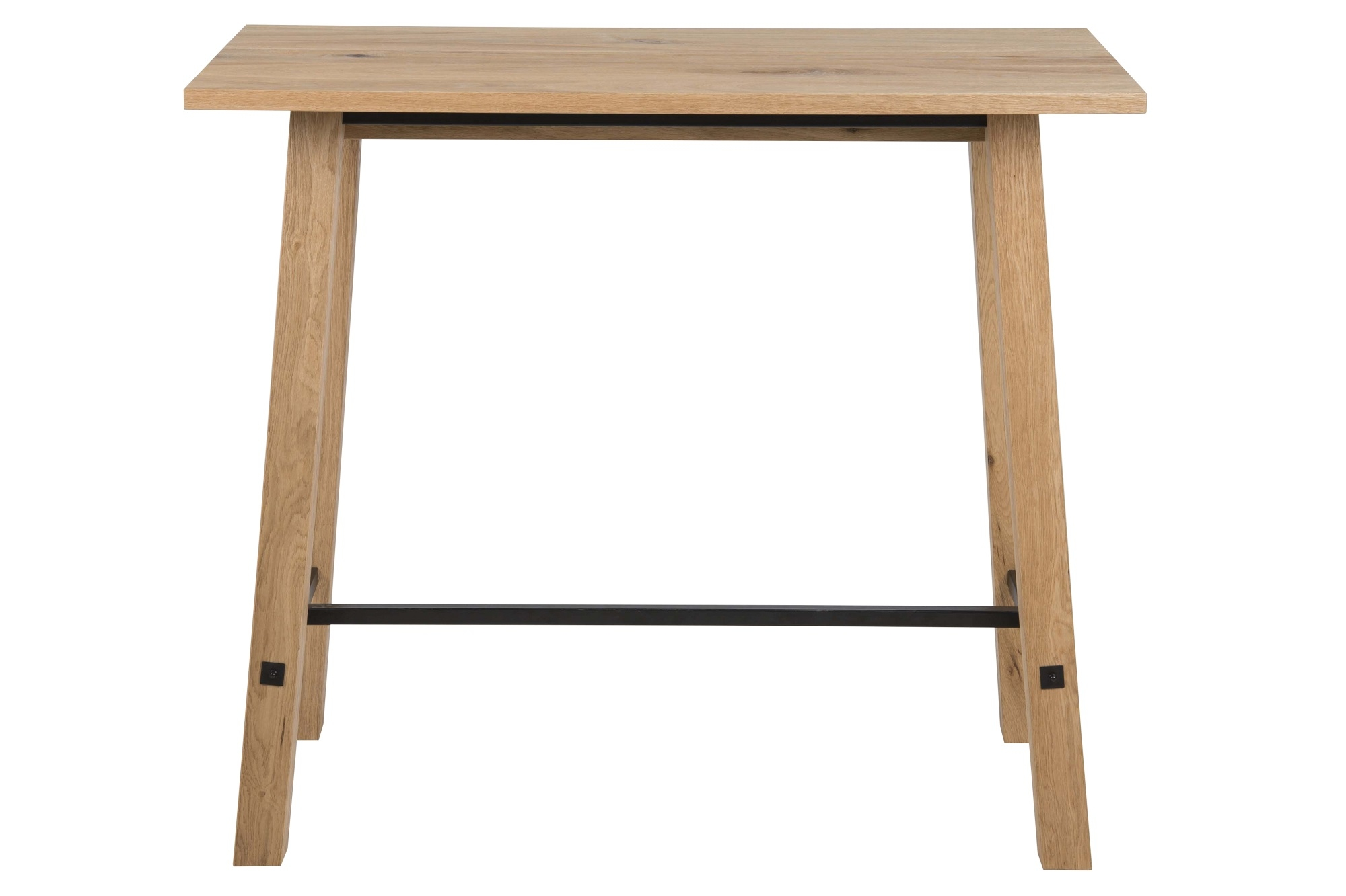 Masa de bar din furnir Stockholm Natural, L120xl60xH105 cm imagine
