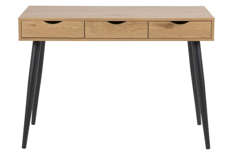 Masa de birou Neptun Oak/Black L110xl50xh771 cm