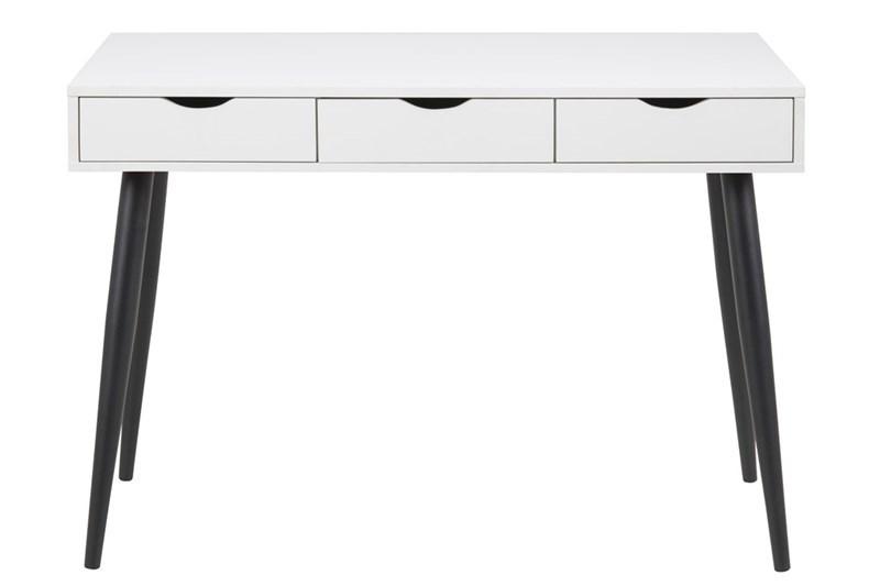 Masa de birou Neptun White/Black L110xl50xH771 cm
