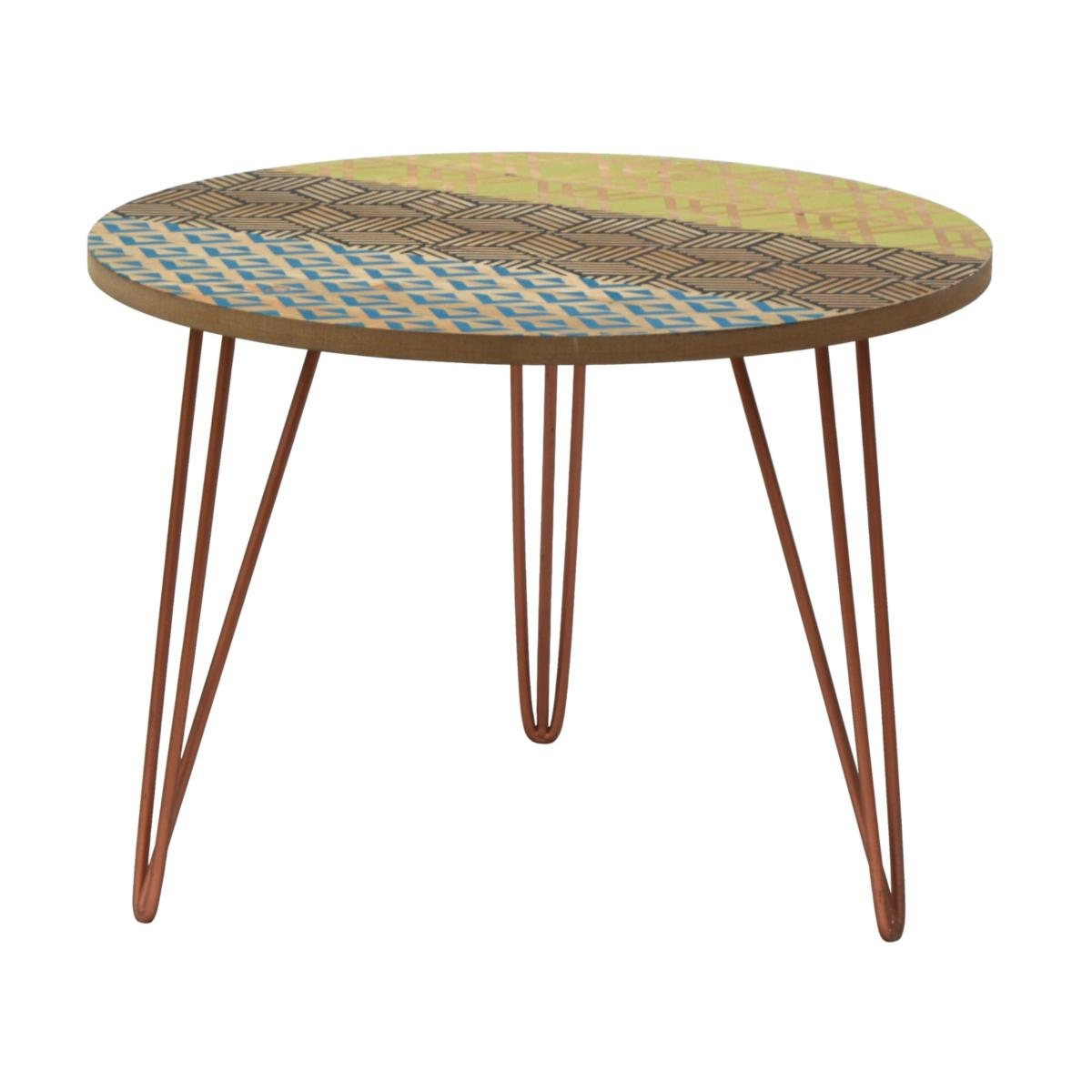 Masa de cafea din lemn de brad Portofino F043B