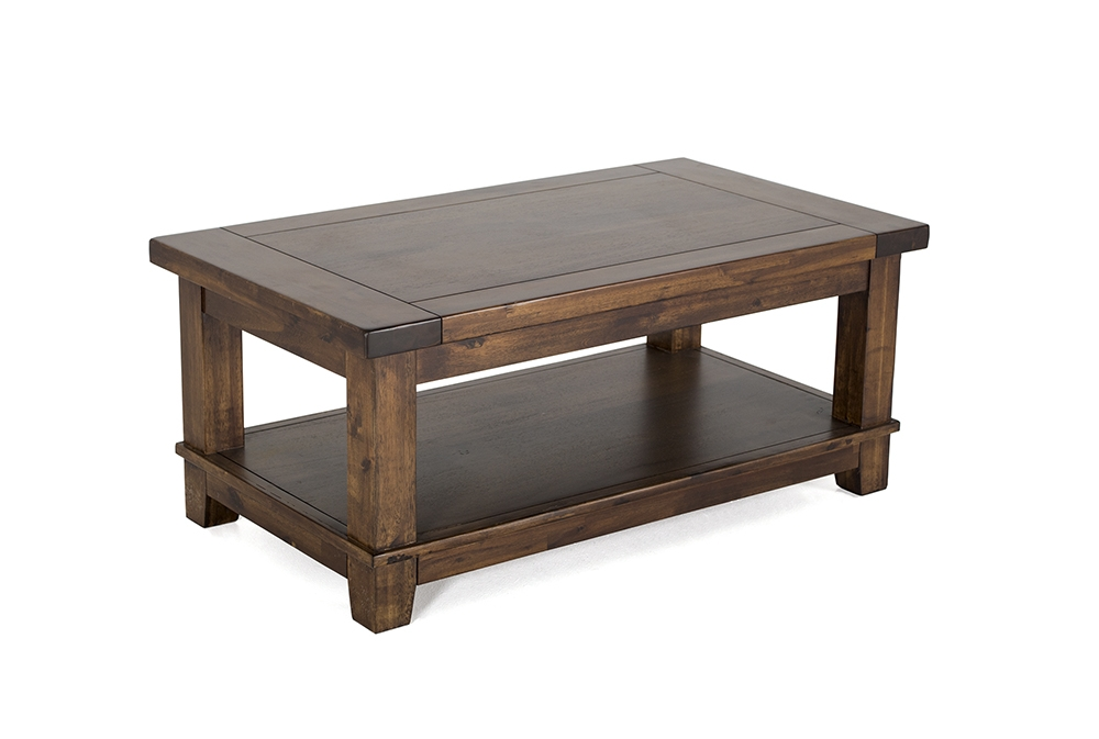Masa de cafea din lemn de salcam Emerson Brown L106xl60xH455 cm