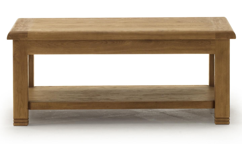 Masa de cafea din lemn de stejar Danube Oak L120xl70xH50 cm