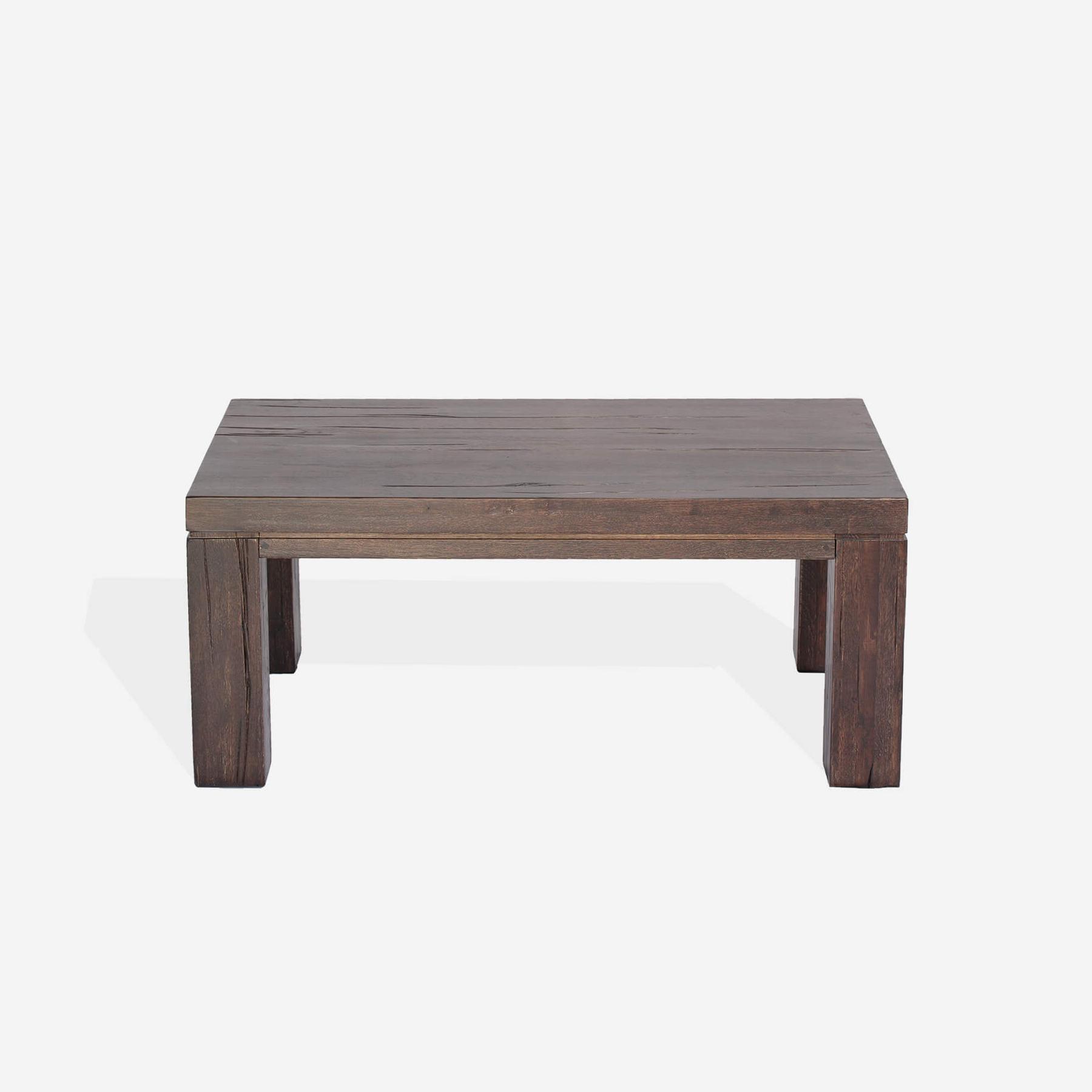Masa de cafea din lemn de stejar salbatic Texas, L120xl70xH50 cm imagine