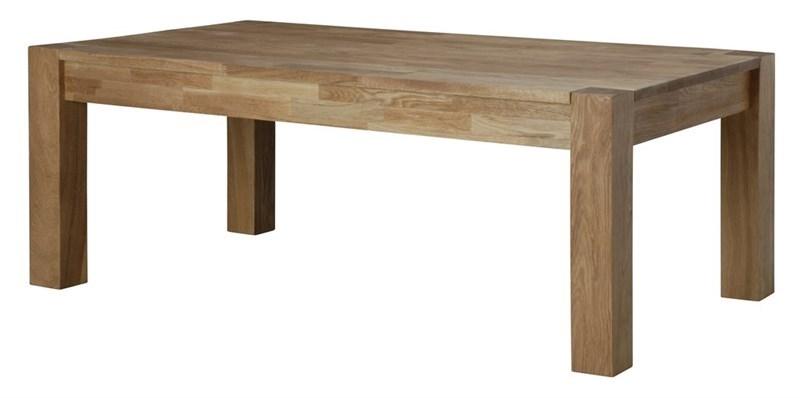 Masa de cafea din lemn de stejar Turbo Oak L120xl65xH45 cm