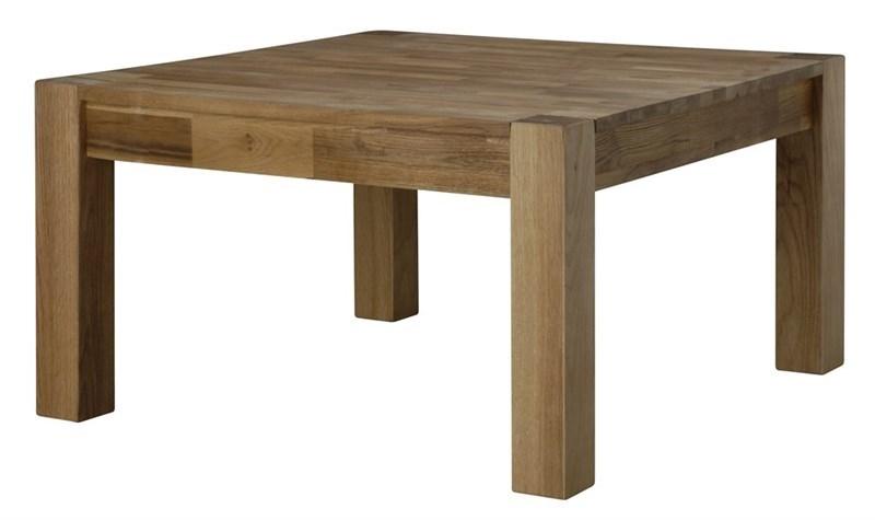 Masa de cafea din lemn de stejar Turbo Oak L80xl80xH45 cm