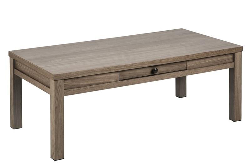 Masa de cafea din lemn si furnir Brentwood Oak L112xl58xH42 cm