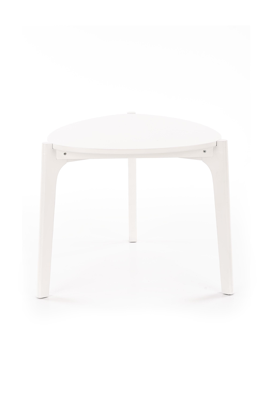 Masa de cafea din MDF Cerda White O58xH50 cm