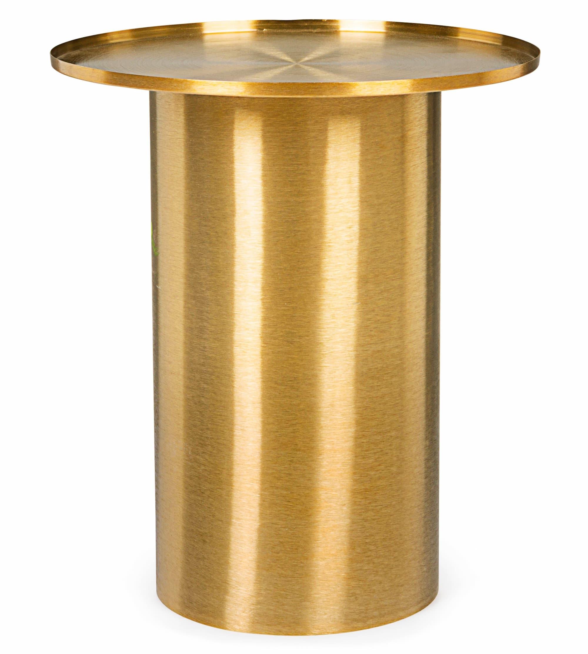 Masa de cafea din metal Kalpita Auriu, Ø51xH59 cm