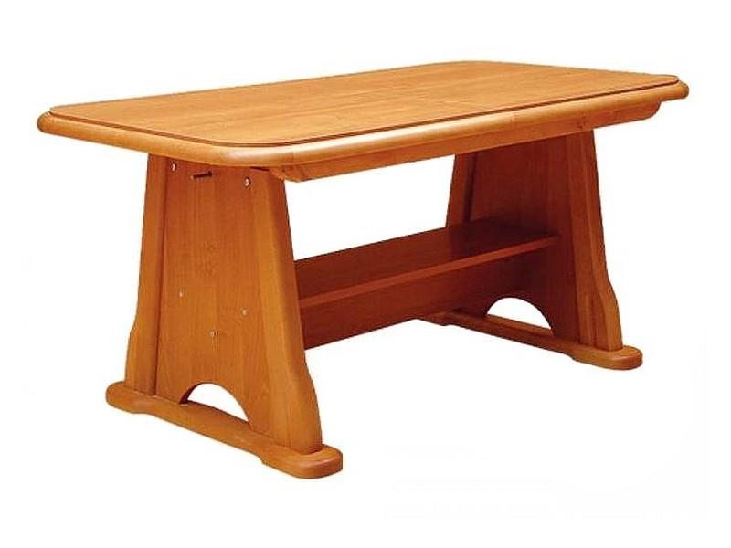 Masa de cafea extensibila din lemn si pal Beata Arin, L130-170xl67xH60-77 cm