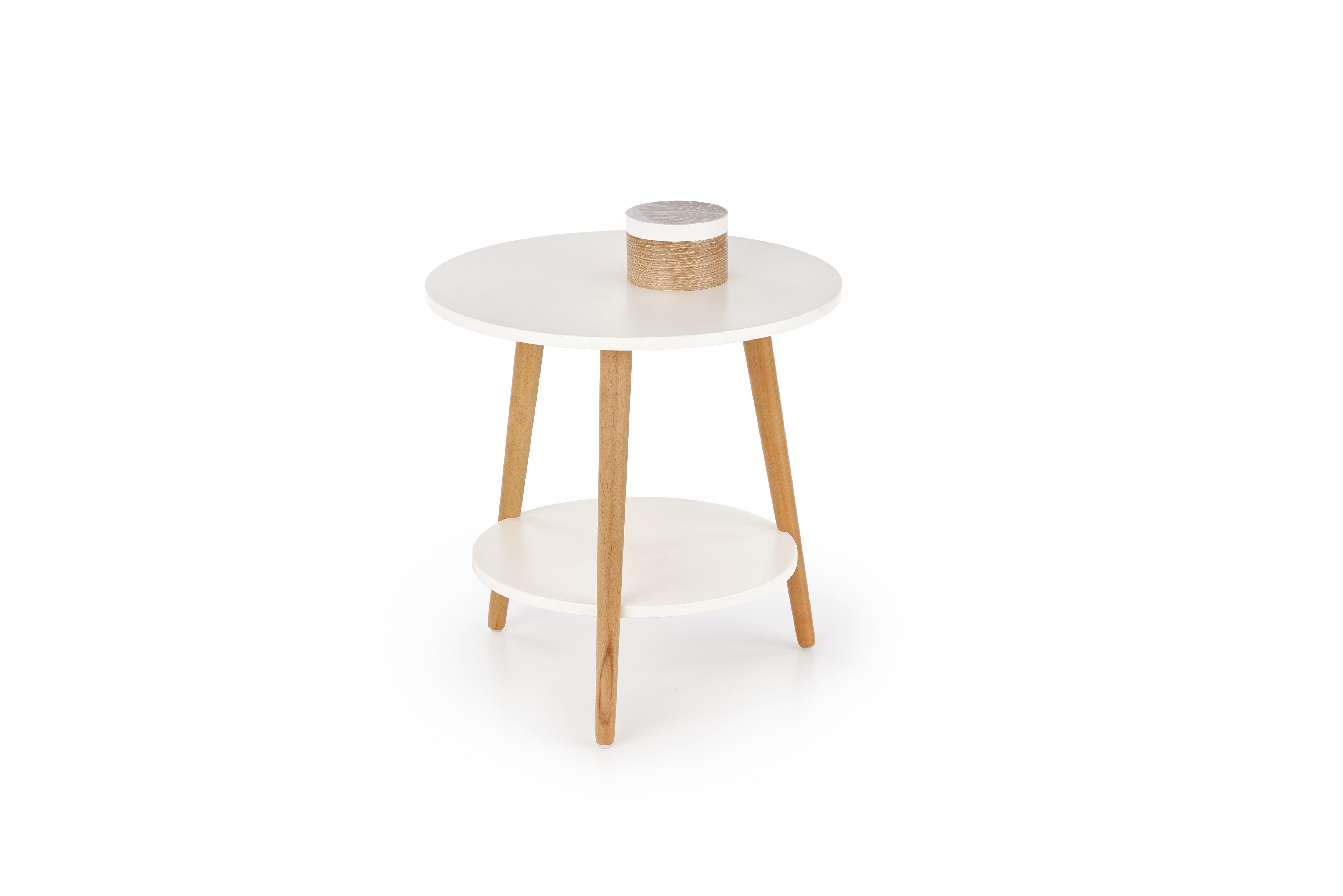 Masa de cafea Sago White O50xh50 cm