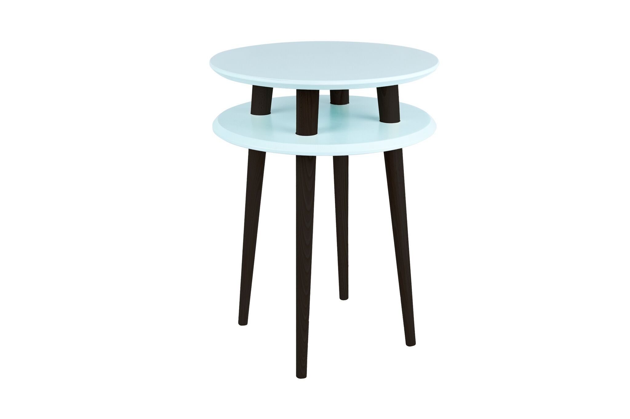 Masa de cafea Ufo High Light Turquoise / Black O45xh61 cm