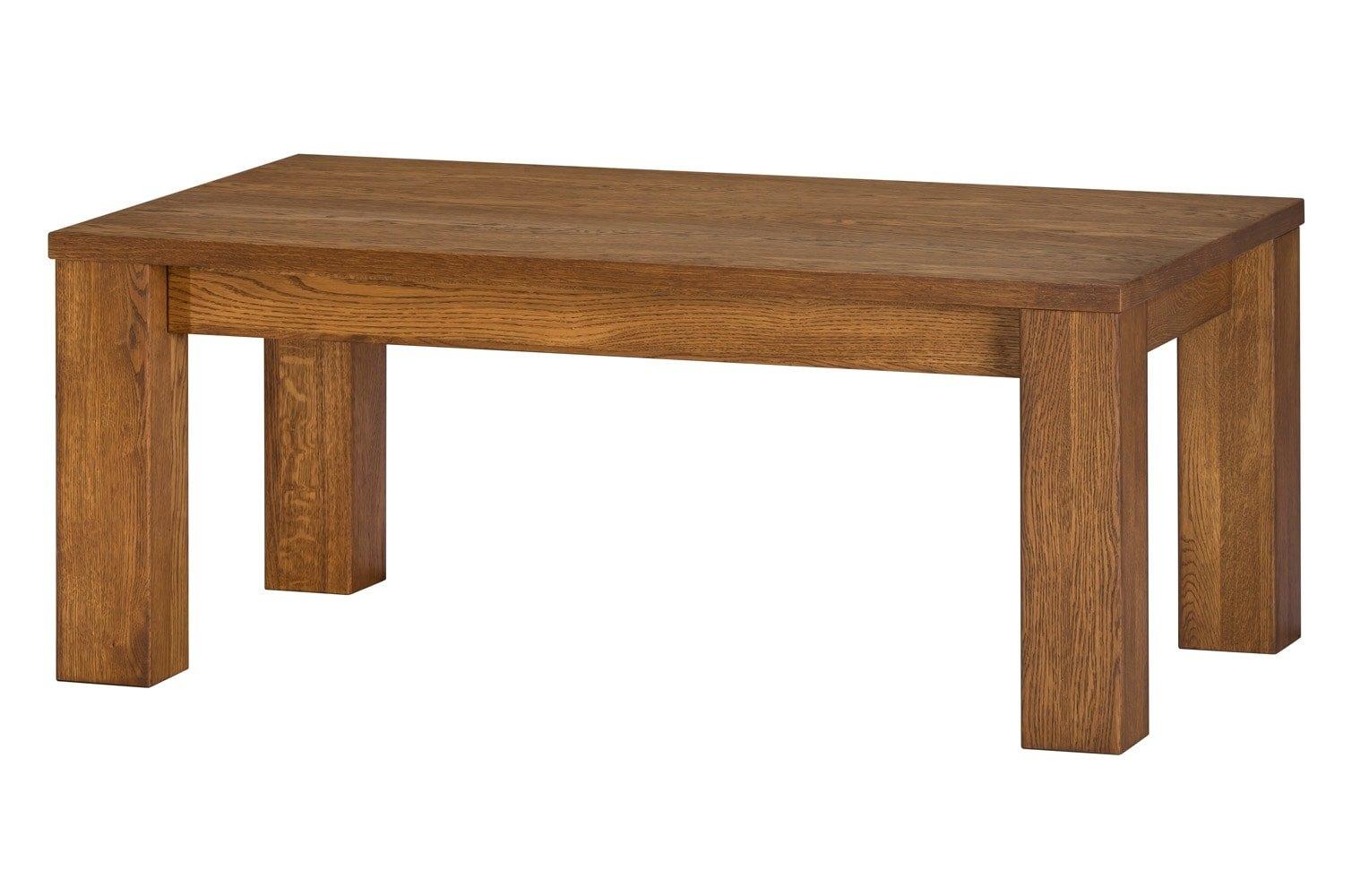 Masa de cafea, din lemn si furnir Velvet 41 Oak, L120xl70xH48 cm imagine