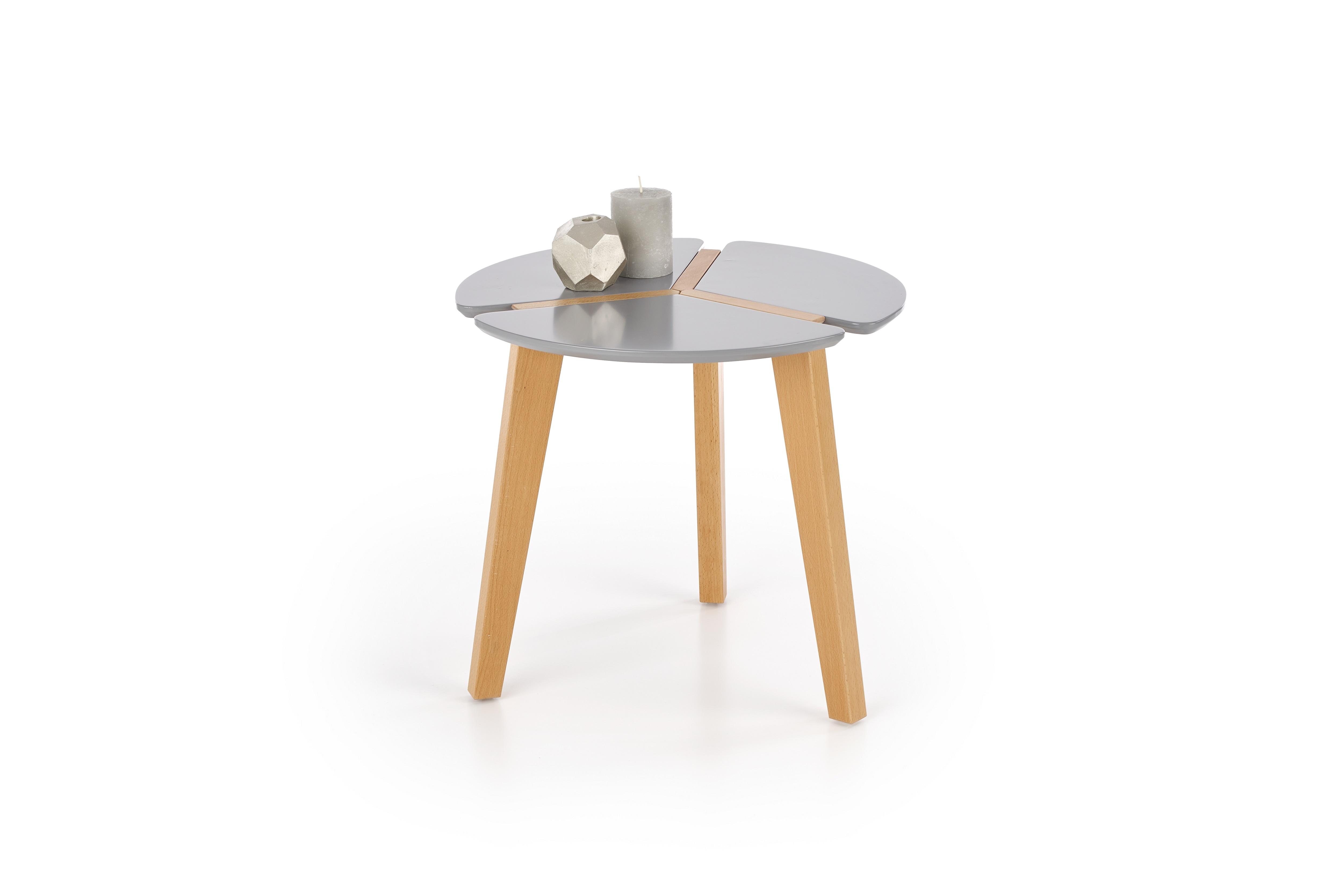 Masa de cafea Zeta Grey O50xh45 cm