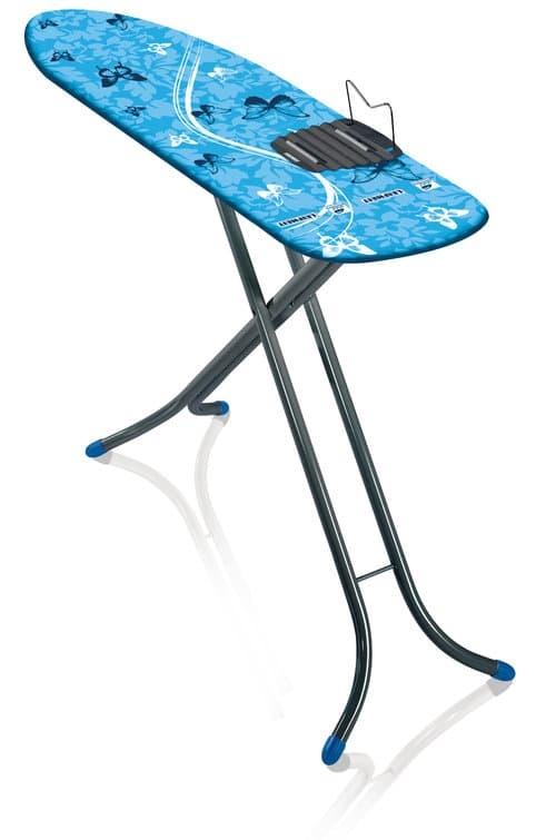 Masa de calcat cu cadru metalic, Air Board M Albastru / Antracit, L120xl38xH78-98 cm imagine