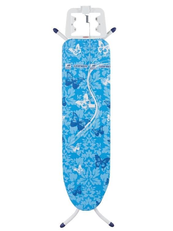 Masa de calcat cu cadru metalic, Air Board S Albastru, L110xl30xH77-88 cm