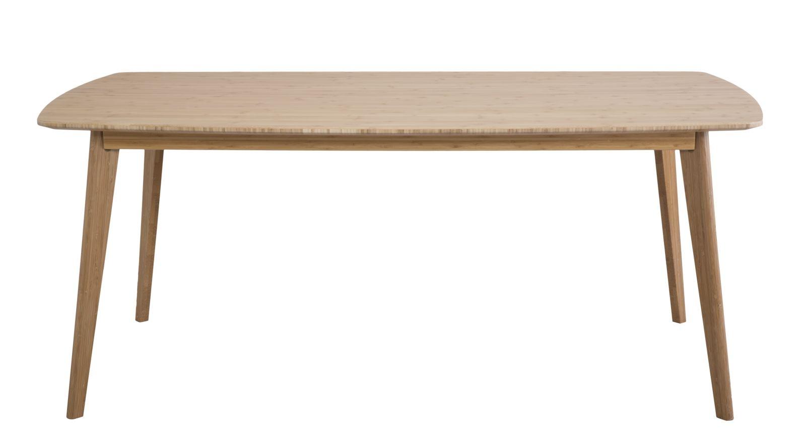 Masa din lemn de bambus Tokyo L180xl74xh95 cm