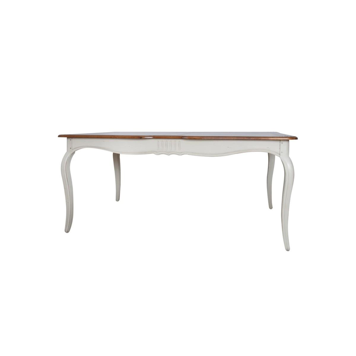 Masa din lemn de mesteacan, Verona VE810, L168xl103xh77 cm imagine
