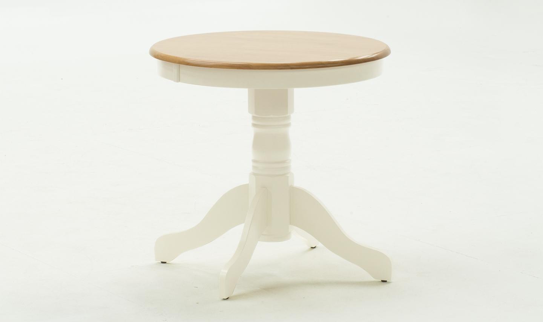 Masa din lemn de pin Kinver Buttermilk O76xH76 cm