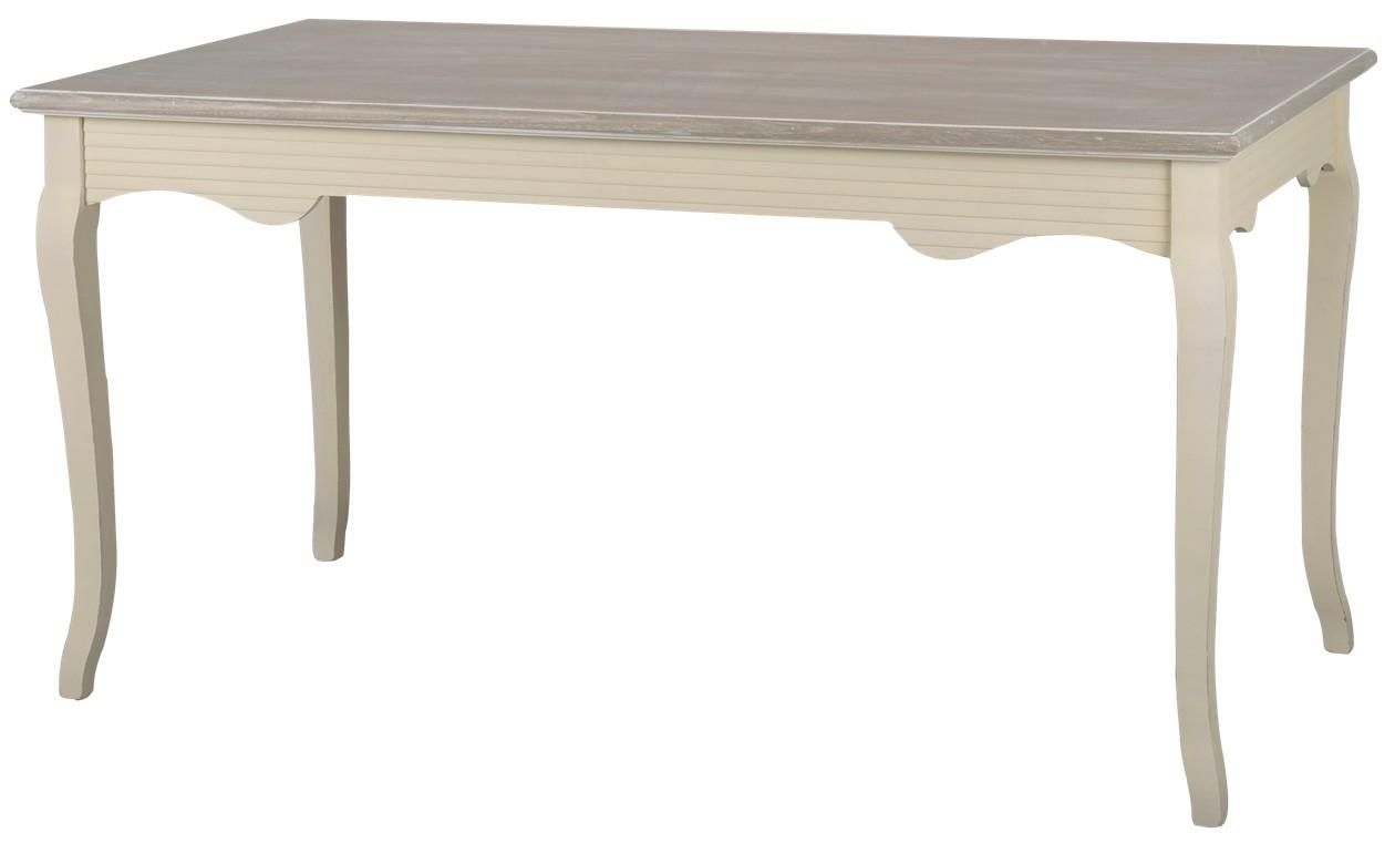 Masa din lemn de plop si MDF Pesaro PE026, L160xl80xh78 cm