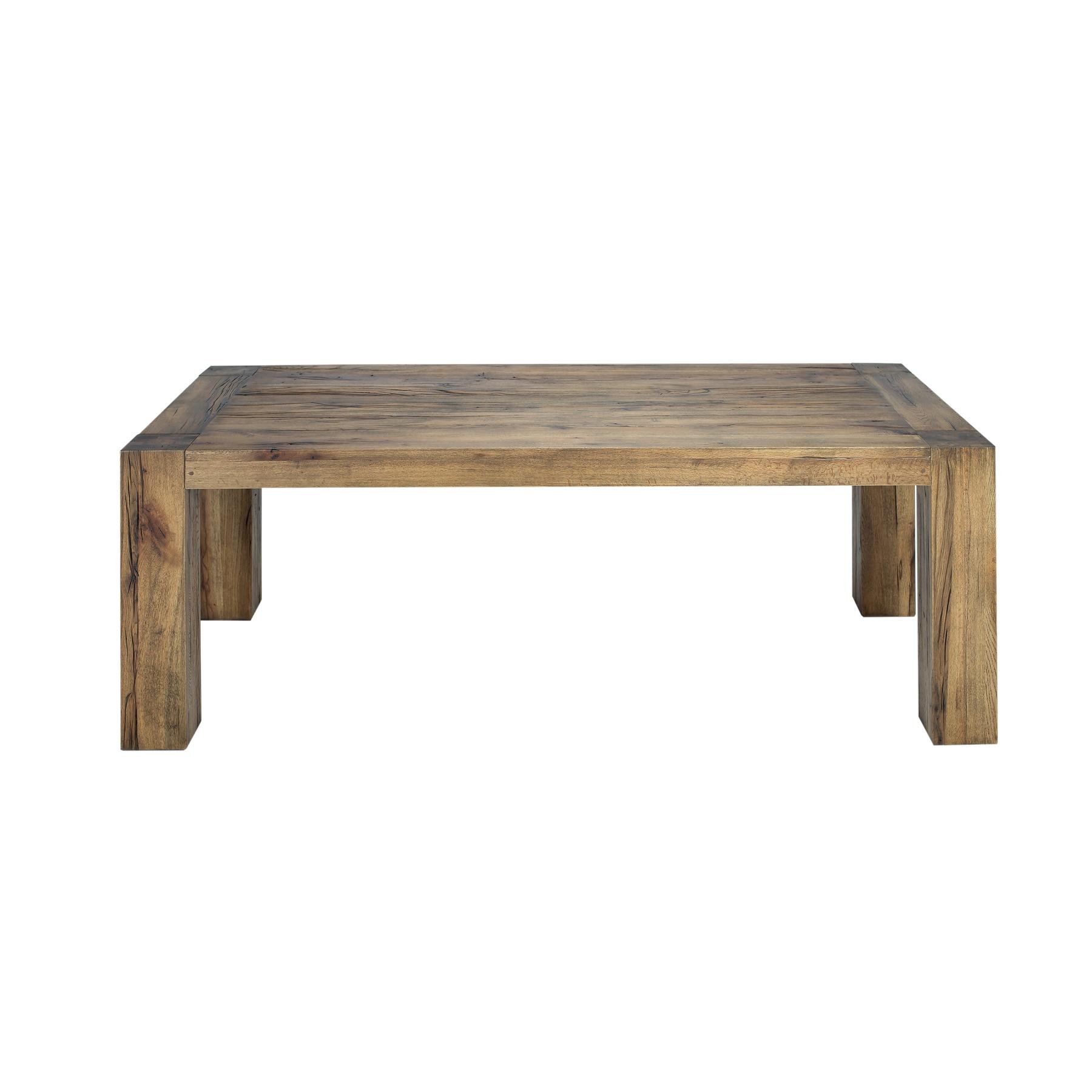 Masa din lemn de stejar salbatic Concept L180xl100xH76 cm