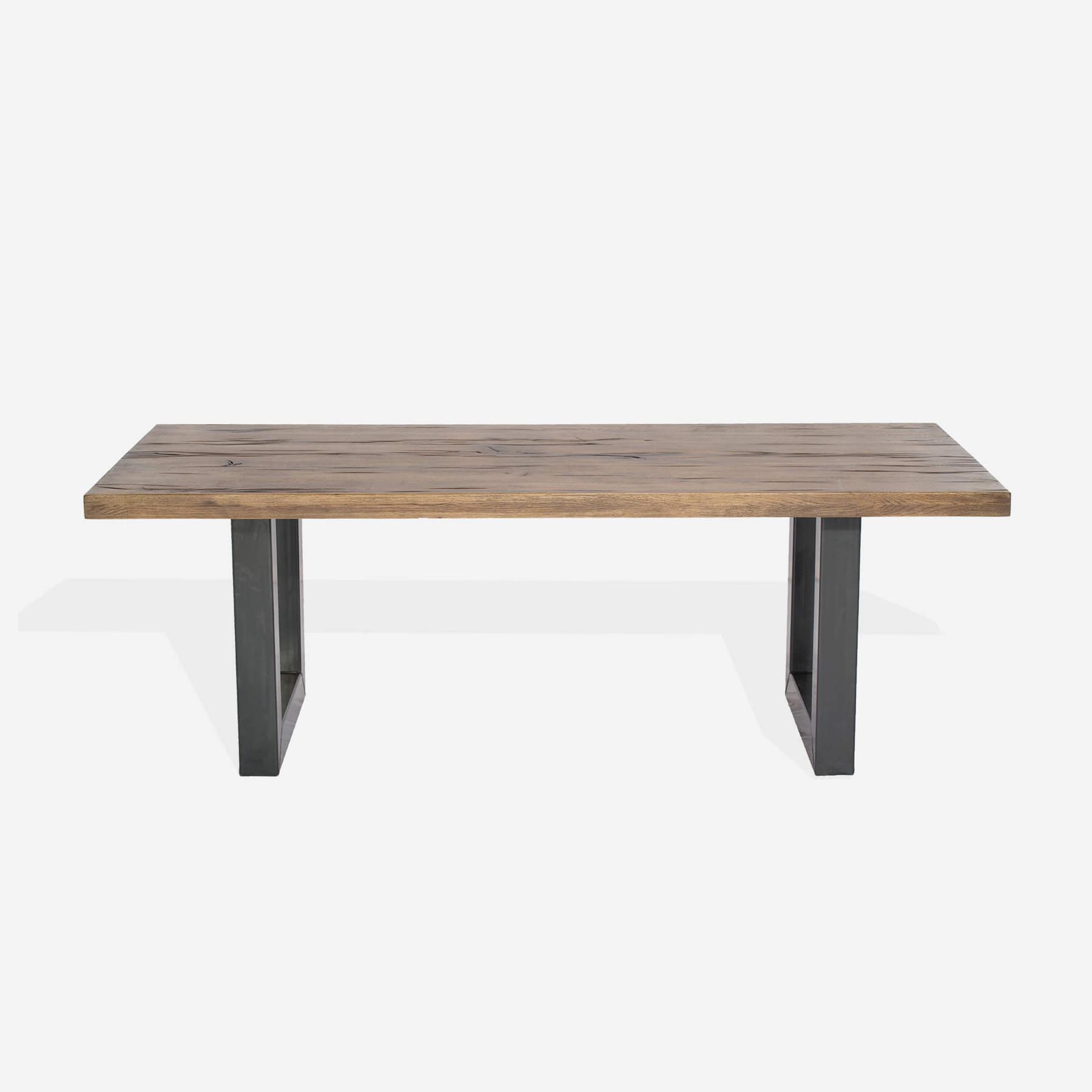Masa din lemn de stejar salbatic Concept L240xl100xh76 cm