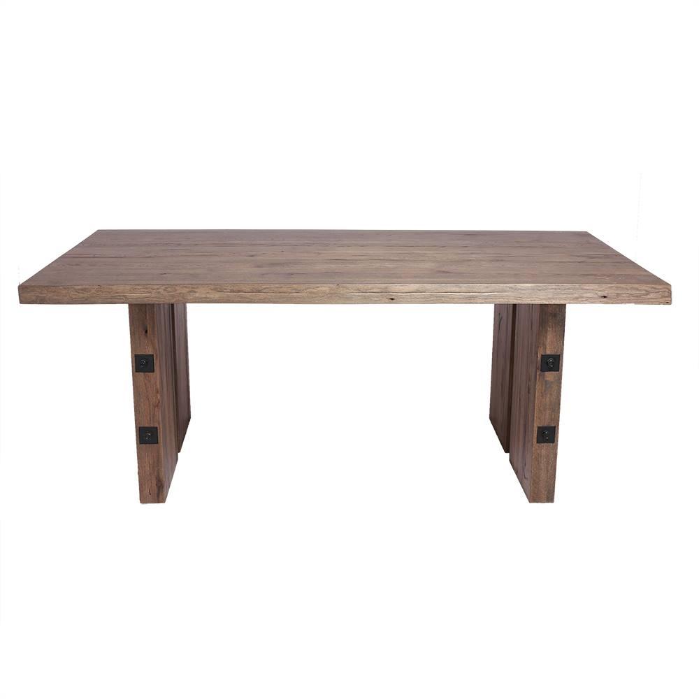 Masa din lemn de stejar salbatic Delly L180xl100xH79 cm