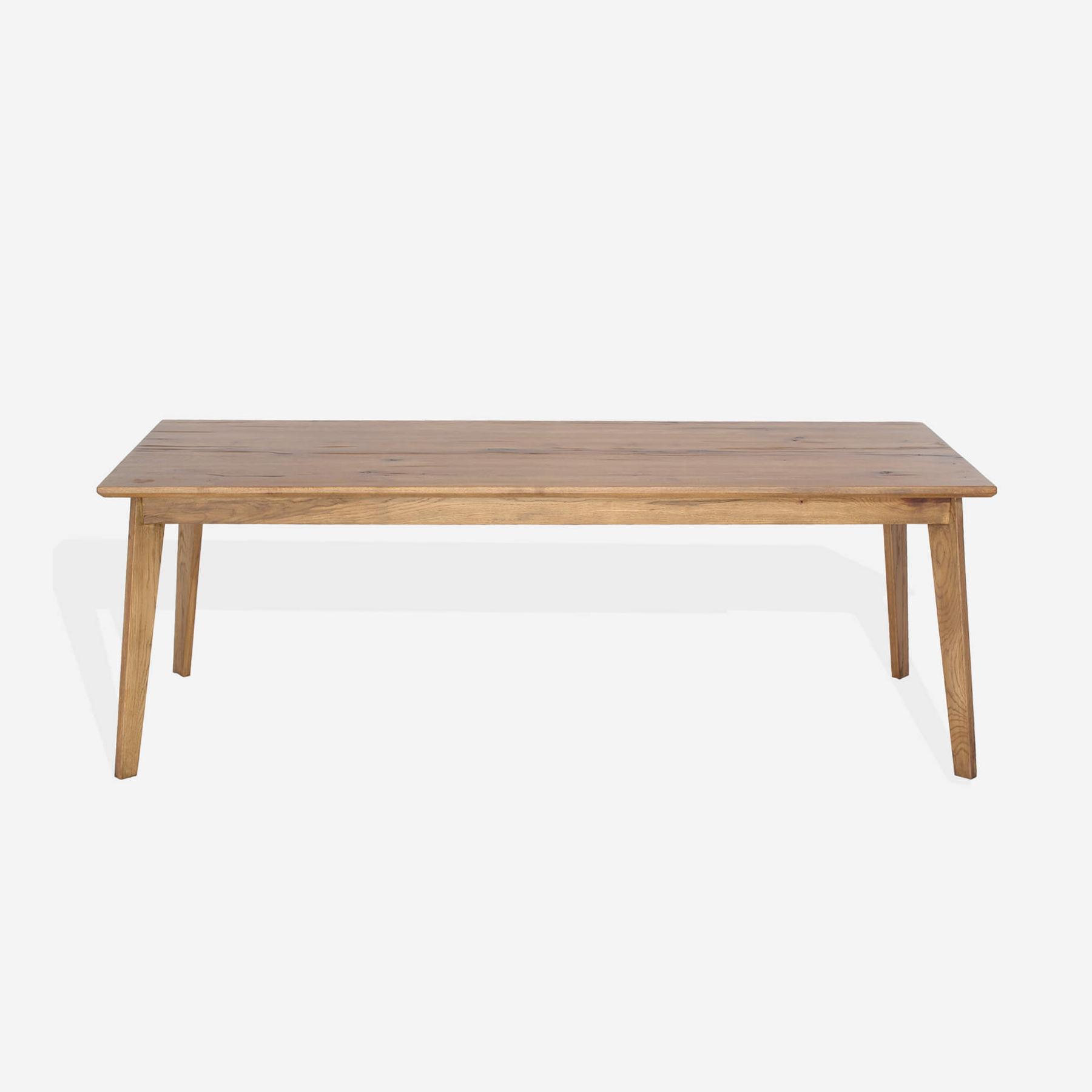 Masa din lemn de stejar salbatic Manhattan