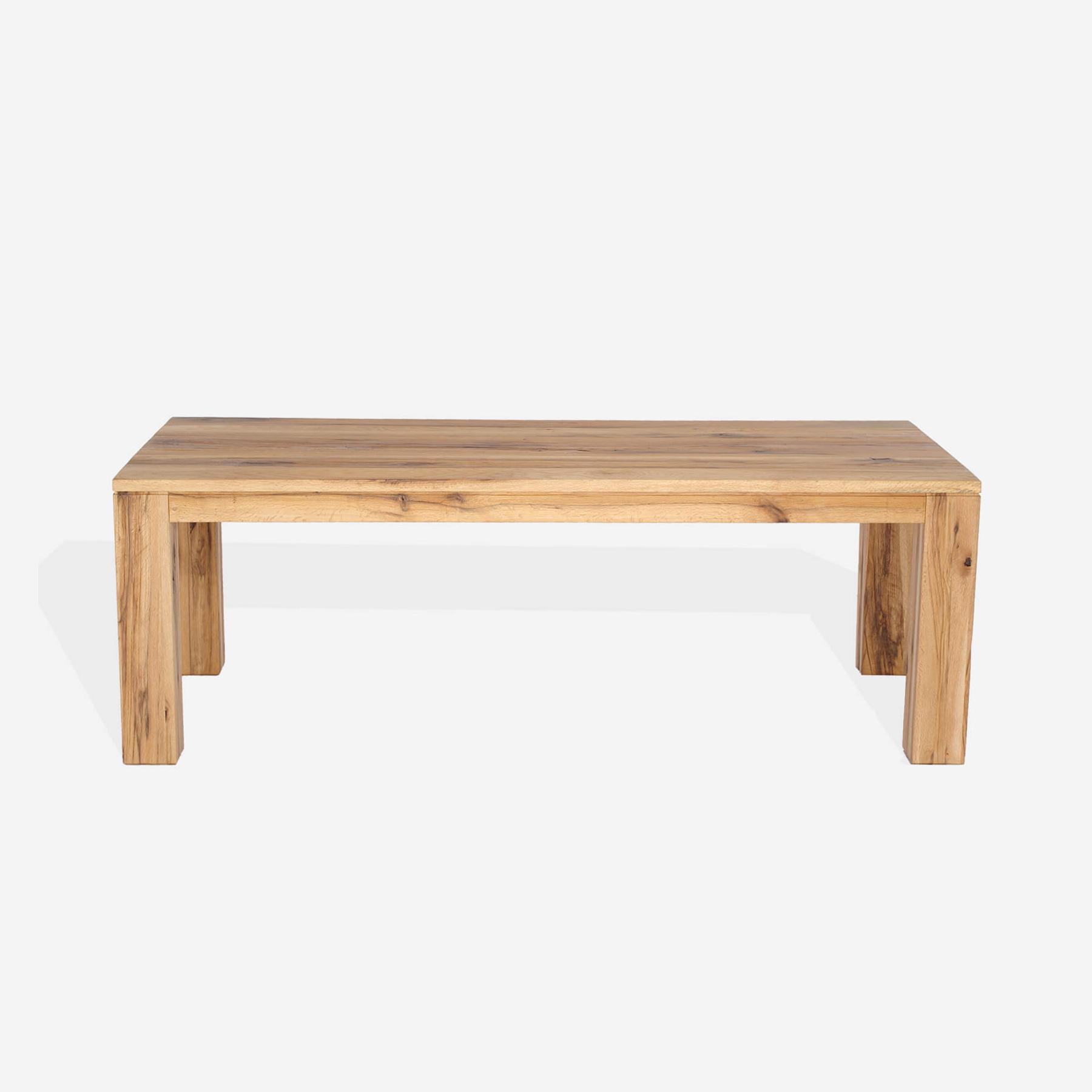 Masa din lemn de stejar salbatic Nantes L200xl100xH76 cm