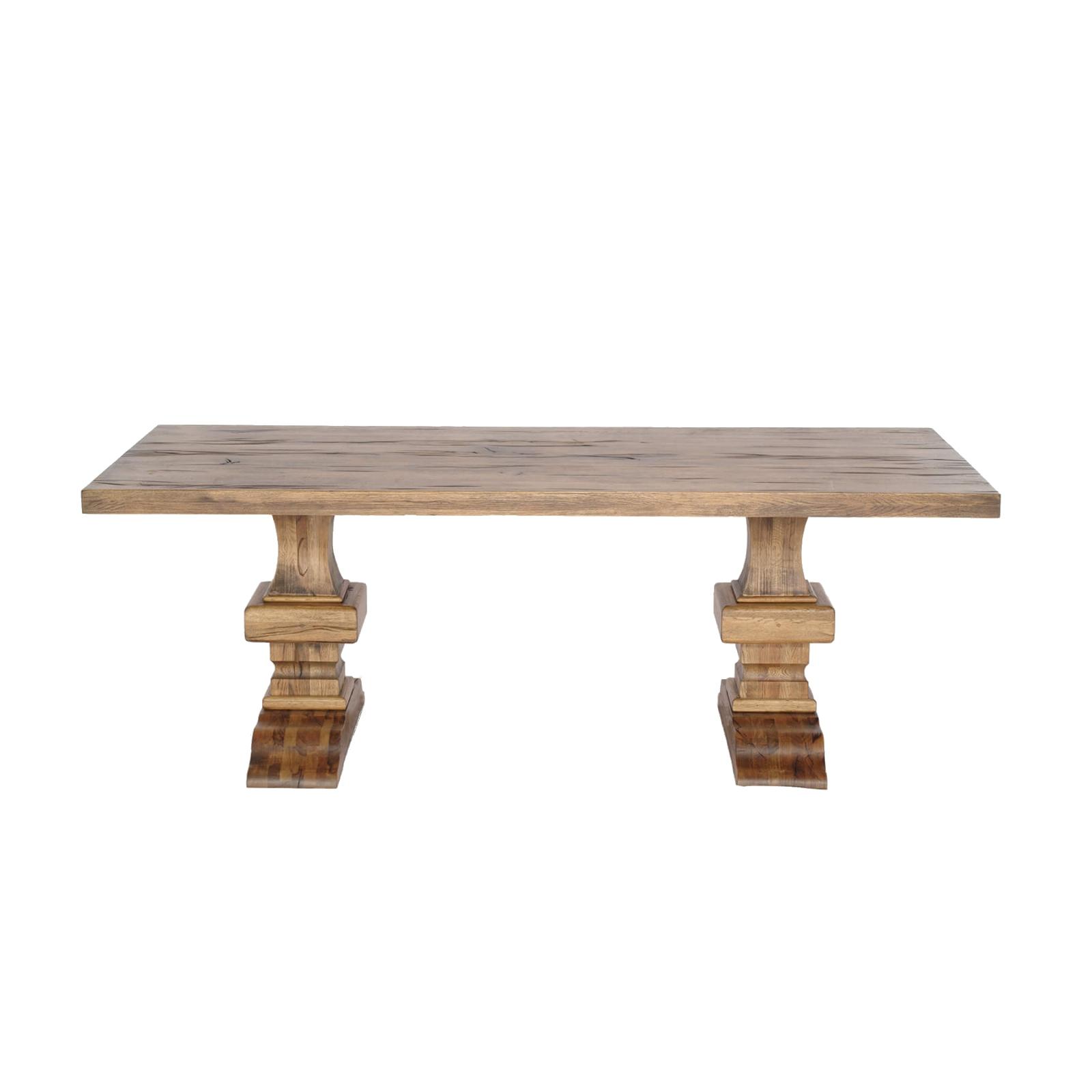 Masa din lemn de stejar salbatic Roma imagine