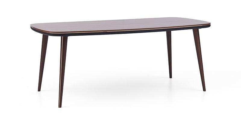 Masa din lemn Diamond Nuc, L200xl100xH78,5 cm imagine