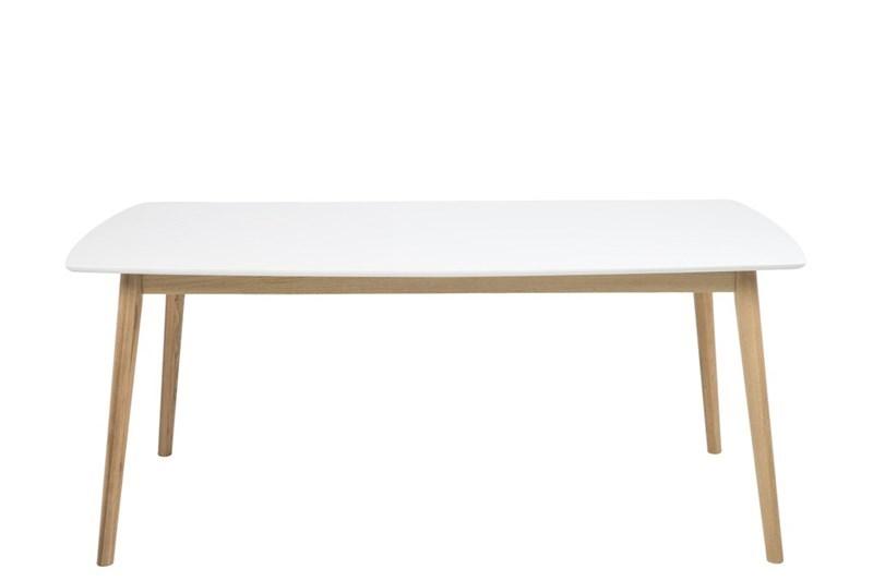 Masa din lemn Nagano White / Oak L180xl90xHh755 cm